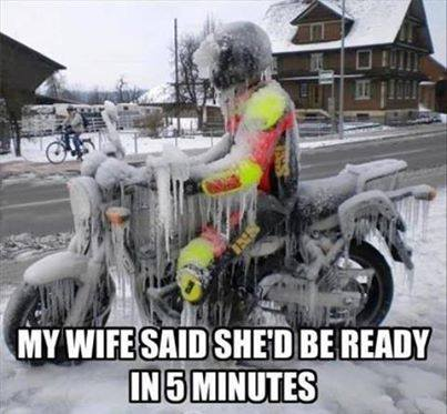 My Wife Said She's Be Ready In Five Minutes