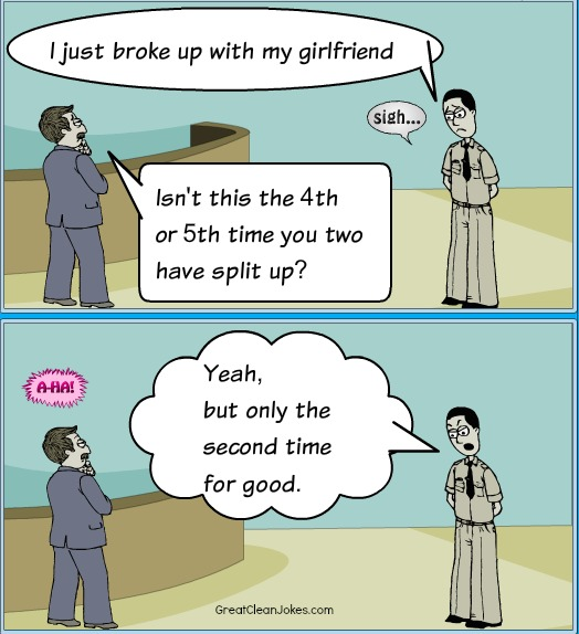 Funny Girlfriend Cartoon