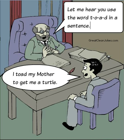 Spelling Bee Cartoon